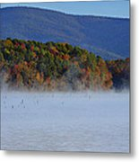 Autumn Backdrop Metal Print