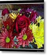 Autumn Boquet Metal Print