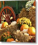 Autumn Bounty Vertical Metal Print