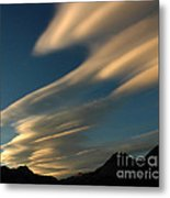 Autumn Clouds Jasper 1 Metal Print