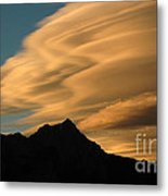 Autumn Clouds Jasper 2 Metal Print