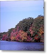 Autumn Colors On The Lake Metal Print
