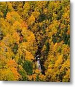 Autumn Colour And Waterfalls, Cape Metal Print by John Sylvester