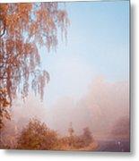 Autumn Fairytale. Misty Roads Of Scotland  Metal Print