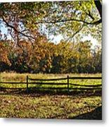 Autumn Field In Pennsylvania Metal Print