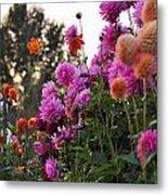 Autumn Flowers Metal Print by Sarai Rachel
