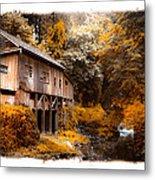Autumn Grist Metal Print by Steve McKinzie