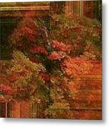 Autumn Illusion Metal Print