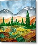 Autumn In Alaska Metal Print