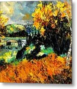 Autumn In Ardennes 672101 Metal Print