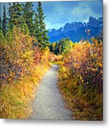 Autumn In Canada Metal Print