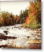 Autumn In New Hampshire Metal Print by Crystal Joy Photography