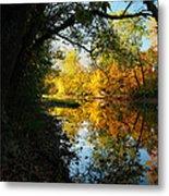 Autumn In Ohio Metal Print