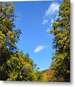 Autumn In Pennsylvania Metal Print