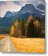 Autumn In The Rockies Metal Print