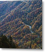 Autumn In The Smoky Mountains Metal Print by Dennis Hedberg