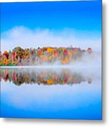 Autumn Island Metal Print