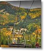 Autumn Lift Metal Print