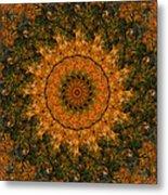 Autumn Mandala 1 Metal Print