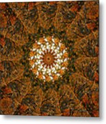Autumn Mandala 4 Metal Print