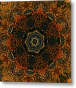 Autumn Mandala 5 Metal Print