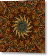 Autumn Mandala 7 Metal Print