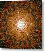 Autumn Mandala 8 Metal Print