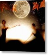 Autumn Moon Dance Metal Print by Gun Legler