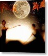 Autumn Moon Dance Metal Print