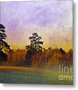 Autumn Morning Mist Metal Print by Judi Bagwell