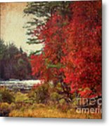 Autumn Of Yesteryear Metal Print