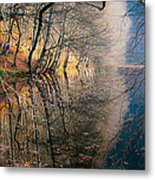Autumn Metal Print by Okan YILMAZ