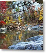 Autumn On The Black River 1 Metal Print