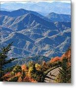 Autumn On The Blue Ridge Parkway Metal Print