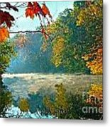 Autumn On The White River I Metal Print