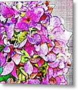 Autumn Purple II Metal Print