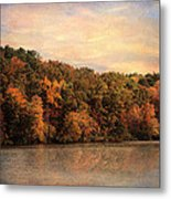 Autumn Reflections 1 Metal Print by Jai Johnson