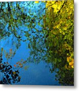 Autumn Reflections New Hampshire II Metal Print