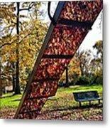 Autumn Slide Metal Print