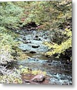 Autumn Streams Metal Print