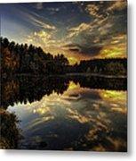 Autumn Sunset 2 Metal Print