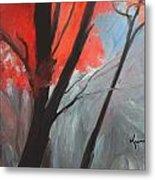 Autumn Trees Metal Print