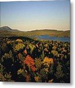 Autumn View Across Baxter State Park Metal Print
