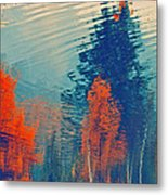 Autumn Vision Metal Print