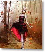 Autumn Waltz Metal Print by Mary Hood