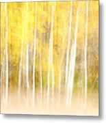 Autumns Abstract Metal Print