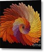 Autumn's Colorwheel Metal Print