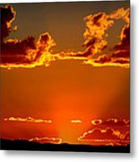 Autumn's Sunset Metal Print