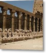 Avenue Of The Sphinx Metal Print