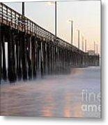 Avila Beach Pier California 5 Metal Print
